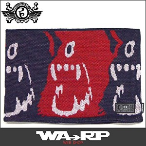 ローリングクレイドル ROLLING CRADLE CYCLOPS SHOUT NECK WARMER(RED NAVY)