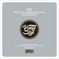 Vinyl Styl Protective Outer Record Sleeves - 50 Pack <LPレコードスリーヴ 50枚>