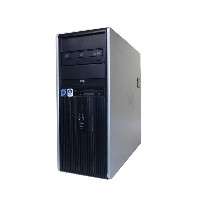 送料無料 中古パソコン WindowsXP HP dc7800p CMT FH149PA#ABJCore2Duo E8500 3.16GHz/2GB/160GB×2/DVDマルチRadeon...