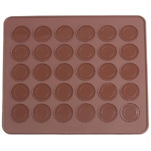 YIJIA Silicone Macaron macaroon Baking Sheet Mat Muffin DIY Chocolate Cookie Mould Mode - 30...