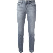 7 For All Mankind クロップドスリムジーンズ