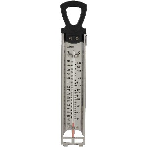 Winco Deep Fry/Candy Thermometer with Hanging Ring, 2-Inch by 11-3/4-Inch [並行輸入品]