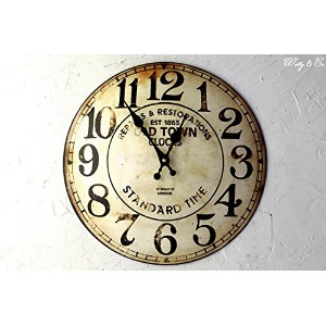 WALL CLOCK WORK HOUSE Old Town