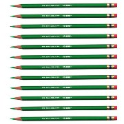 Prismacolor 消しゴム付き色鉛筆 ライトグリーン 12本セット Col-Erase Erasable Colored Pencils Light Green KIT-20052-BOX