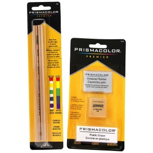 Prismacolor プリズマカラー カラーレスブレンダーペンシル 2本 イレイザー 3種類セット2 Piece Premier Colorless Blender Pencils Plus 3...