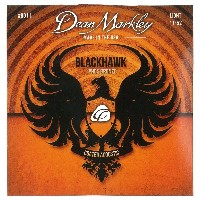 Dean Markley コーティングアコースティック弦 Black Hawk Coated Acoustic -Phosphor Bronze- 8011 Light .011-.052