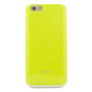 iPhone6s ケース DESIGNSKIN SLIDER for iPhone6 (Lime) アイフォン6s アイフォン6