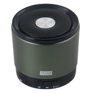 August Bluetooth wireless ワイヤレス無線スピーカー MS425 (green)
