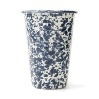 【LABOUR AND WAIT】K262 MARBLED TUMBLER NVY/CRM/12cm/0.42L【ビショップ/Bshop 食器・キッチングッズ】
