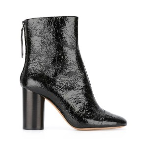 Isabel Marant - Grover ankle boots - women - レザー/エナメルレザー - 36