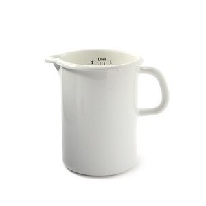 【LABOUR AND WAIT】K043 MEASURING JUG WHITE/10cm/1L【ビショップ/Bshop 食器・キッチングッズ】