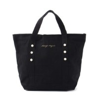 PEARL TOTE S BK【メランジェ マガザン/Melanger Magasin トートバッグ】