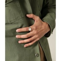 ON THE SUNNY SIDE OF THE STREET: Oval Signet Ring【ジャーナルスタンダード/JOURNAL STANDARD リング】