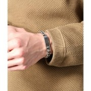 ON THE SUNNY SIDE OF THE STREET: Hollow Curblink ID Bracelet【ジャーナルスタンダード/JOURNAL STANDARD ブレスレット...