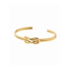 ON THE SUNNYSIDE OF THE STREET Sailor Knot Bangle Gold【エディフィス/EDIFICE ブレスレット・バングル】
