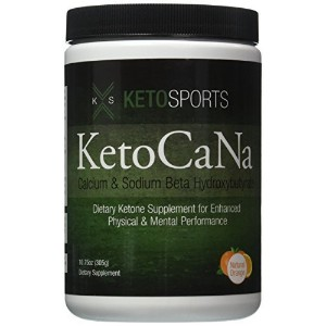 KetoSports KetoCaNa | Calcium and Sodium Beta Hydroxybutyrate | Exogenous Ketones [並行輸入品]