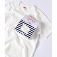 Hanes×SHIPS AUTHENTIC PRODUCTS: ワッフル ショートスリーブ Tシャツ【シップス/SHIPS Tシャツ・カットソー】
