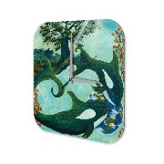 壁時計 Wall Clock Fantasy Motif Krakowski Orca Decorative Plexiglass