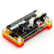 Pimoroni pHAT DAC - フォノコネクター付き DAC pHAT with Dual Phono Connector for Raspberry Pi
