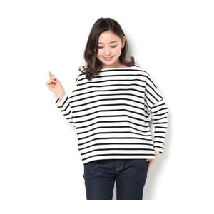 Traditional Weatherwear ビッグマリンボートネックシャツ【エリオポール/HELIOPOLE Tシャツ・カットソー】