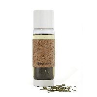 Full Circle Tea Time Insulated Glass Travel Bottle with Tea Infuser and Cork Sleeve, 19-Ounce, Earl...