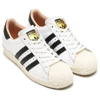 adidas Originals SUPERSTAR 80s W (アディダス スーパースター 80s W)RUNNING WHITE/CORE BLACK/OFF WHITE【メンズ レディース...
