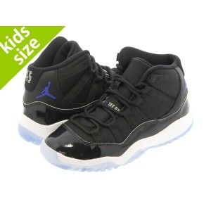 【キッズサイズ】【16-22cm】 NIKE AIR JORDAN 11 RETRO BP 【SPACE JAM】 ナイキ エア ジョーダン 11 レトロ BP BLACK/DARK CONCORD...