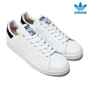 adidas Originals STAN SMITH(アディダス オリジナルス スタンスミス)(Running White/Running White/College Navy)【メンズ...