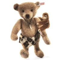 Steiff 035104 シュタイフ ぬいぐるみ テディベア サル Limited Edition Johnny and Jocko Monkey Cafe au Lait 31cm