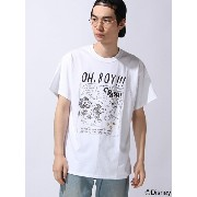 【SALE/50%OFF】XLARGE×Disney S/S TEE OH BOY エクストララージ カットソー【RBA_S】【RBA_E】【送料無料】