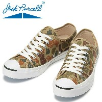 CONVERSE JACK PURCELL HUNTERCAMO カーキ メンズ