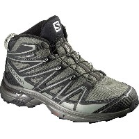 サロモン Salomon メンズ ハイキング シューズ・靴【X-Chase Mid CS WP Hiking Boot】Tempest/Asphalt/Verdigrey