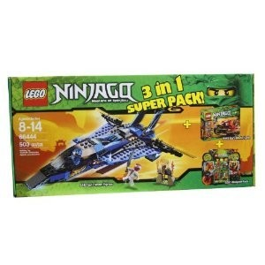 Lego (レゴ) Ninjago (ニンジャゴー) 66444 Masters of Spinjitzu 3 in 1 Super Pack contains 9442, 944