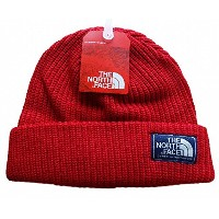 THE NORTH FACE(ザノースフェイス) SALTY DOG BEANIE/USAニット帽子 ニットキャップ (RED) [並行輸入品]
