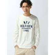 TOMMY HILFIGER (M)ロゴプリントロングTシャツ トミーヒルフィガー【送料無料】