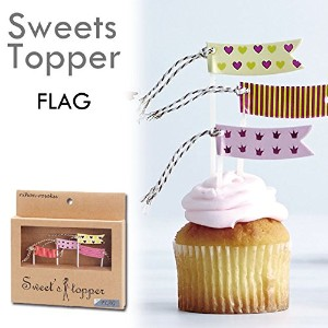 Sweets Topper スイーツトッパー フラッグ