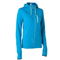Quechua(ケシュア) BIONNASSAY 400 STRETCH FLEECE WOMEN BLUE XS 8226687-1555719