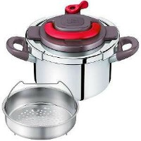 T-fal (ティファール)T-fal ワンタッチ開閉圧力なべ クリプソ アーチ パプリカレッド 4L P4360432