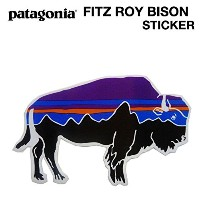 patagonia (パタゴニア) Fitz Roy Bison Sticker