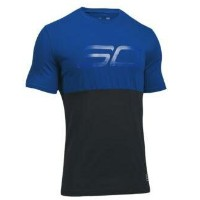 Under Armour SC30 Mono Logo T-Shirt メンズ Royal/Black Tシャツ アンダーアーマー Stephen Curry ステフィン・カリー