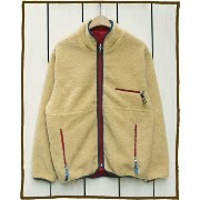 CAMCO Outdoor Fleece Nylon Rev Jacket / boa pile retro classic / B Natural Red カムコ アウトドア フリース ナイロン...