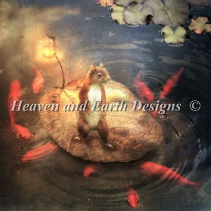 【DM便対応】Heaven And Earth Designs(HAED)クロスステッチ Arpeggio the Squirrel チャート Aimiee Stewart 刺しゅう アメリカ 図案...