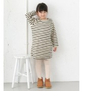 DOORS FORK&SPOON Brushed Border ONE-PIECE(KIDS)【アーバンリサーチ/URBAN RESEARCH ワンピース】