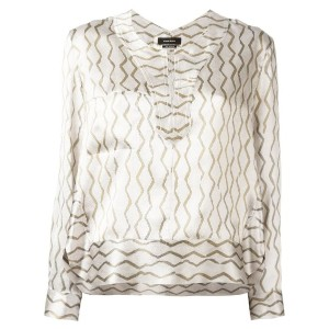 Isabel Marant - Simon blouse - women - シルク - 36