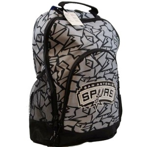 Forever Collectibles San Antonio Spurs Camouflage Backpack Bag Rucksack Tasche