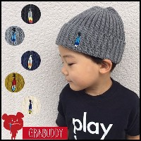 【SALE】【5千円以上送料無料】羽の刺繍が可愛いニット Kids Fly Cool Watch(GRIN BUDDY)