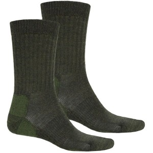 テラマール メンズ インナー ソックス【Terramar Everyday Merino Crew Socks - 2-Pack, Merino Wool 】Loden