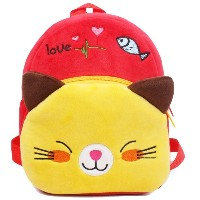 Zhhlinyuan Baby Kids Cartoon Plush Kindergarten Shoulder バッグ Baby Children Backpack Cute School バッグ