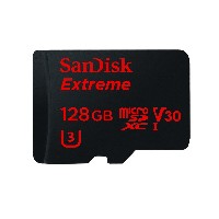 SanDisk Extreme 128GB microSDXC UHS-I Card with Adapter (SDSQXVF-128G-GN6MA) [Newest Version] by...