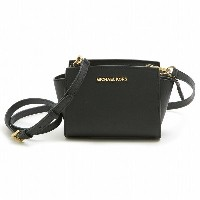 【クーポンで最大3000円OFF】MICHAEL MICHAEL KORS 32h3glmc1l BLACK SELMA MINI MESSENGER 女性用 レディース MK MMK セルマ...
